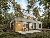Spahaus : Une impressionnante maison dans la nature à 1h30 de Montréal
