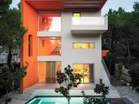 Cette maison a été personnalisée et inspirée d'un cube Rubik
