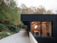 Un nouveau projet à la fois zen et chaleureux au mont Shefford par l'Atelier Général