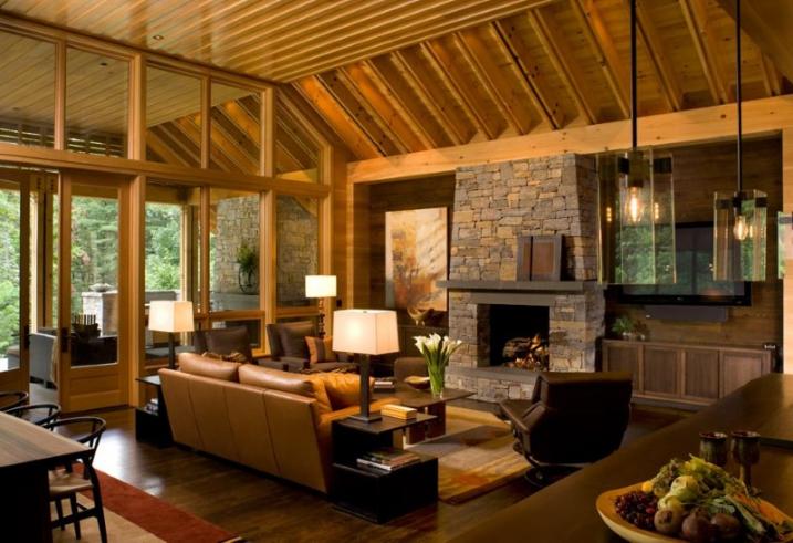 Vous aimerez aussi une jolie maison à caractère écologique située à val david