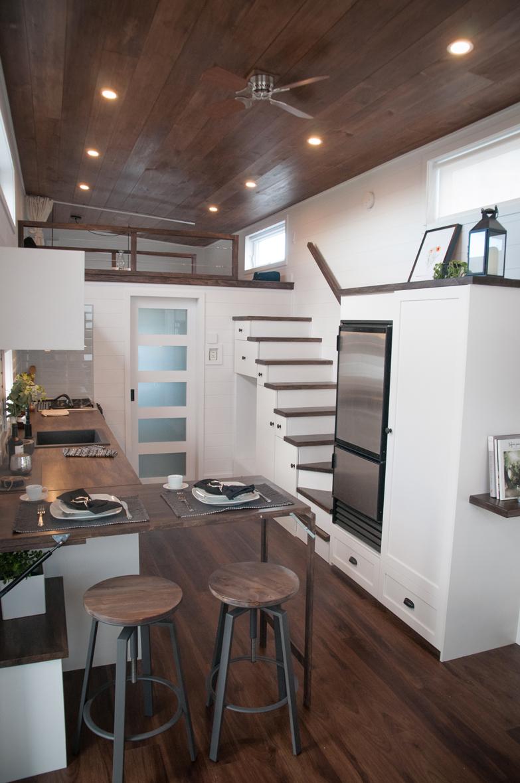 Le Laurier : La nouvelle mini-maison luxueuse en bois faite par l'entreprise québécoise ...