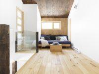 Une jolie maison à caractère écologique située à Val-David
